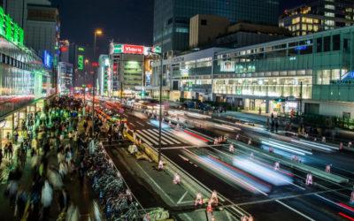 Nighttime Photos of Tokyo